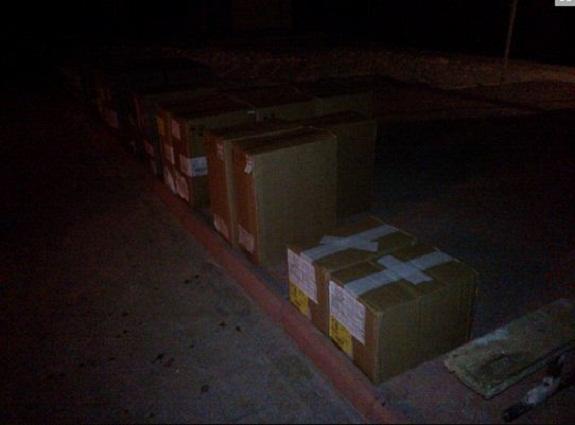 В Белгород-Днестровском районе контрабандист на санях пытался перевезти сигарет на 80 тысяч