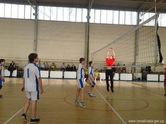 Измаил провёл рождественский турнир по волейболу