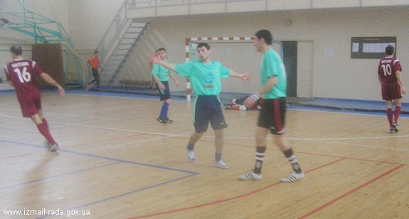 В Измаиле состоялся четвертьфинал чемпионата города по футзалу