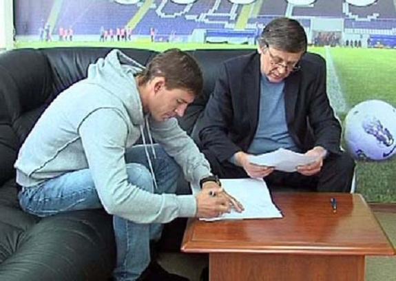 Максим Шацких подписал соглашение с одесским «Черноморцем»