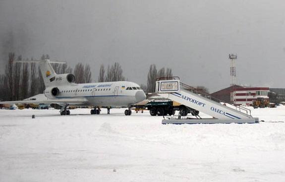 В самолёт с игроками «Черноморца» ударила молния
