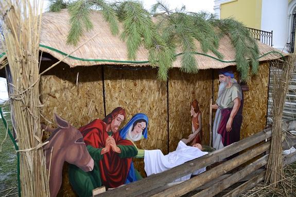 В Болграде Рождество отмечали с праздничным вертепом (ФОТО)