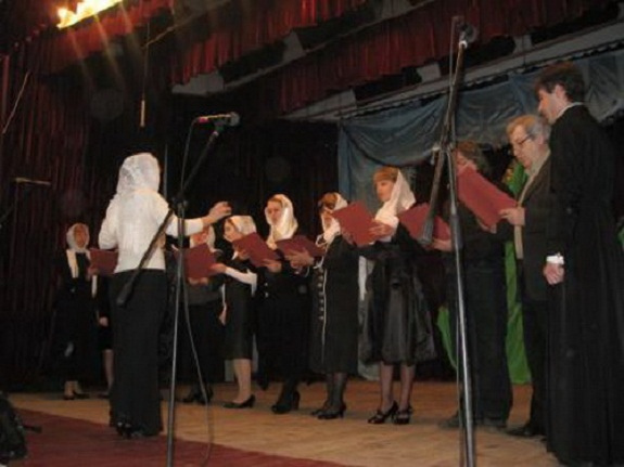 В Рени прошёл рождественский фестиваль