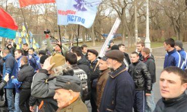 В Одессе произошли столкновения между горожанами и националистами