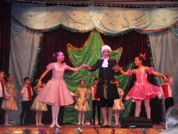В Рени проходит показ балета «Щелкунчик»