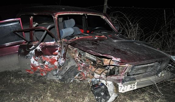 В Болградском районе столкнулись два автомобиля «Жигули»
