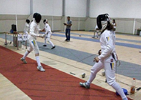 Юная измаильская фехтовальщица попала в пятёрку лучших в Украине