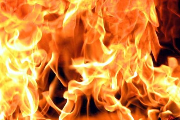 В Арцизе горел гараж