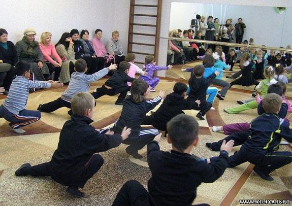 В килийской школе открыли хореографический зал