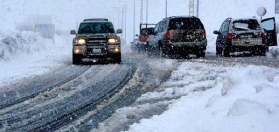 Одессу занесло снегом
