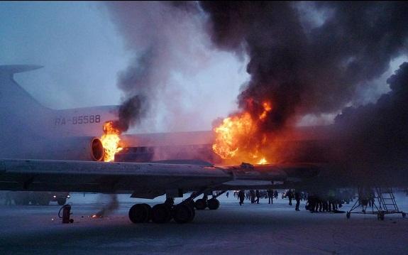 Самолёт с одесскими болельщиками загорелся под Донецком: есть погибшие (ВИДЕО)