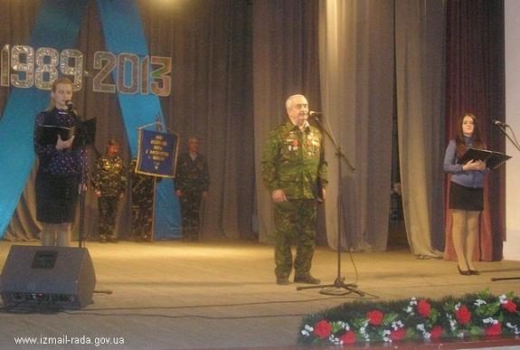 В Измаиле состоялась праздничная встреча воинов-афганцев
