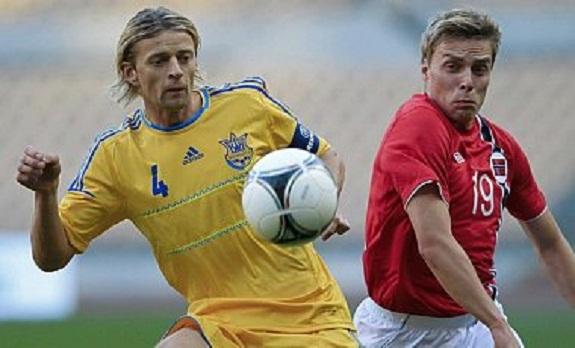 Сборная Украины выиграла первый матч года