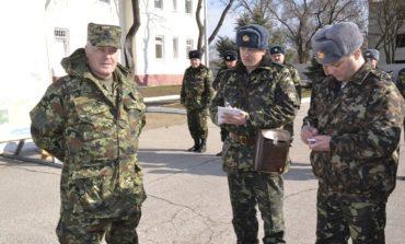 В Болграде побывал начальник Генерального штаба Вооружённых Сил Украины
