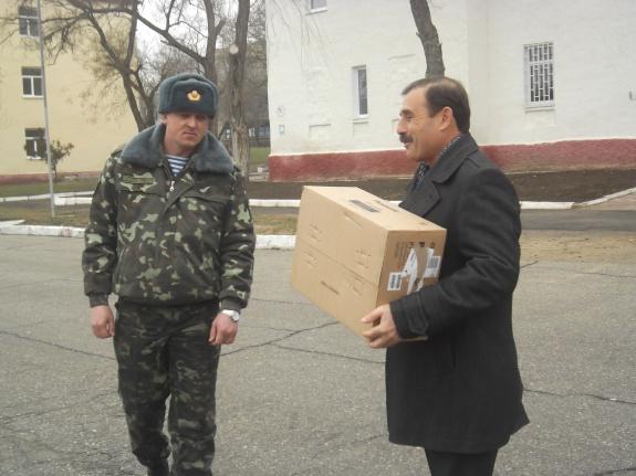 Народный депутат поздравил болградский батальон с Днём защитника Отечества