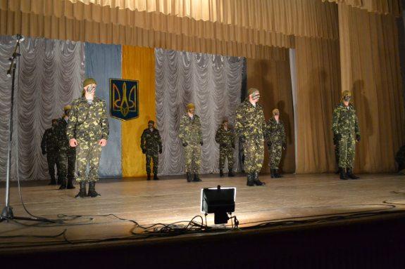 В Болграде чествовали защитников Отечества