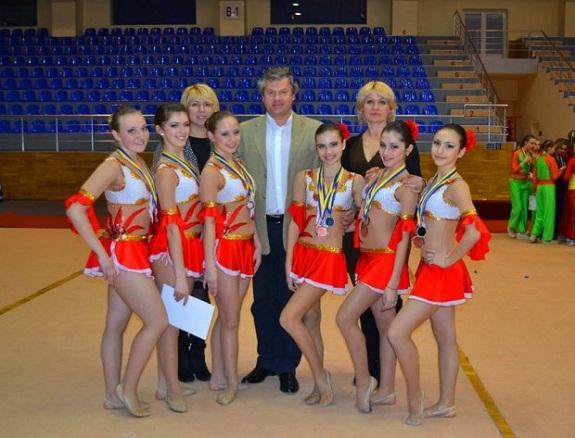 Одесские черлидеры получили 9 медалей на чемпионате Украины