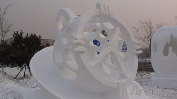 Одесские студенты за снежные часы получили «серебро» в Китае