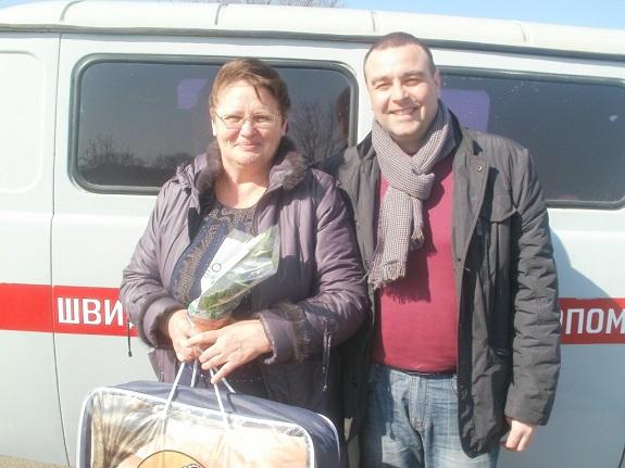 Нардеп поздравил жительниц Саратского района с Международным женским днём (ФОТО)