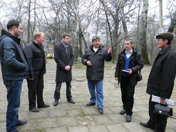 Эксперт ООН приезжал в Болград посмотреть состояние родника (ФОТО)