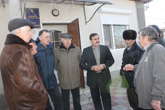 Нардеп организовал приём жителей в Болграде