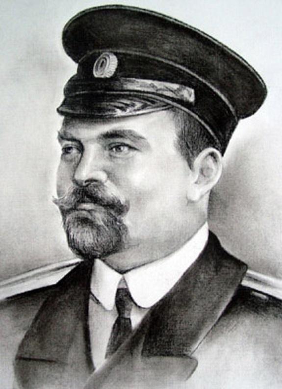 Командующий экспедицией особого назначения на Дунае капитан 1-ого ранга Михаил Веселкин