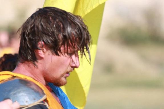 Одессит победил на международном рыцарском турнире в Москве