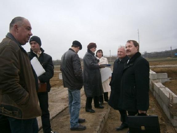 В Саратском районе строят новую школу на 420 человек
