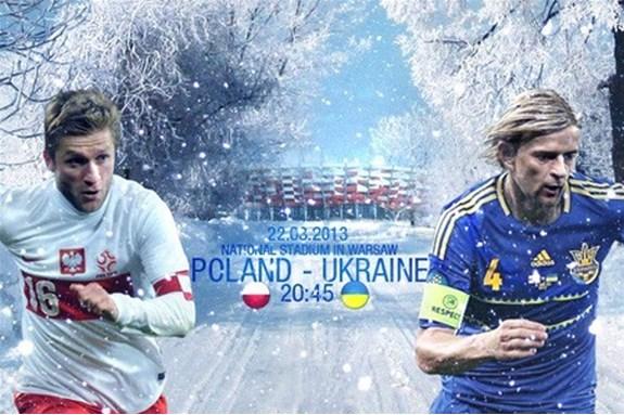 Сборная Украины одолела команду Польши в Варшаве