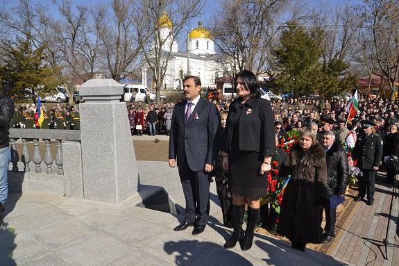 Нардеп и депутат облсовета приняли участие в праздновании Дня освобождения Болгарии от османского ига (ФОТО)