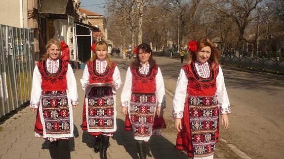 В Болграде встретили приход весны (ФОТО)