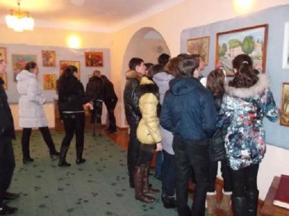 Более 300 ренийцев посетили выставку художника Александра Кокалко