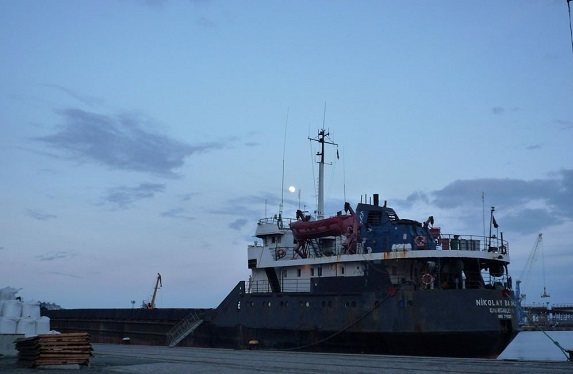 В Одесской области затонул теплоход с украино-российским экипажем
