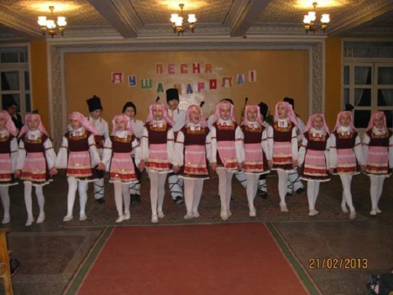 В Измаильском районе прошёл концерт народной песни
