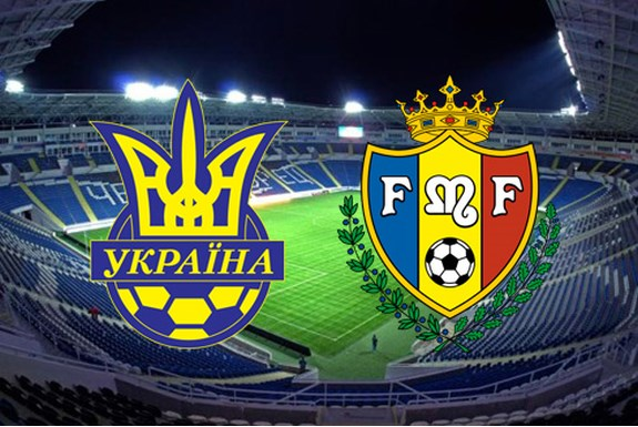 Сборная Украины обыграла Молдову на одесском стадионе «Черноморец»