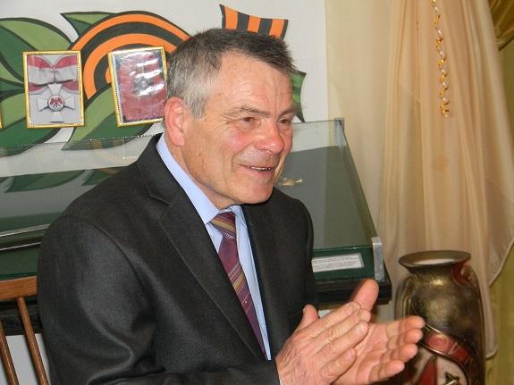 Болградцы познакомились с творчеством кубейца Пантелея Бальжика (ФОТО)