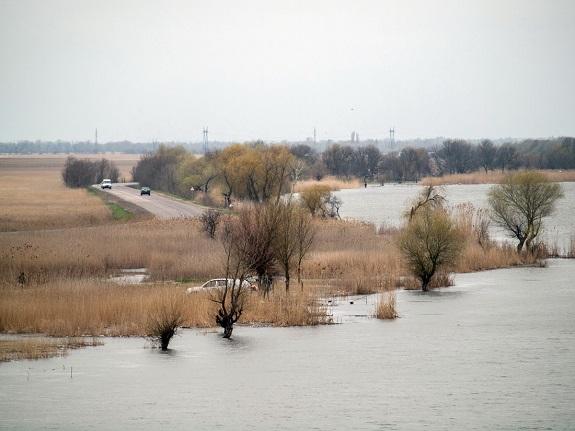 До затопления трассы «Одесса-Рени» осталось совсем немного (ФОТО)