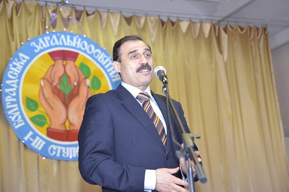 Нардеп поздравил болградскую школу со 185-летием (ФОТО)