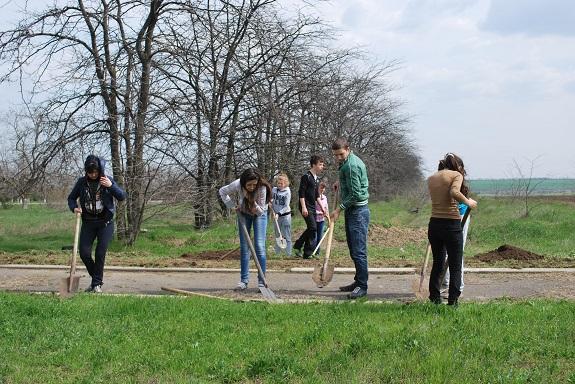 В Болграде стартовала акция «Георгиевская ленточка» (ФОТО)