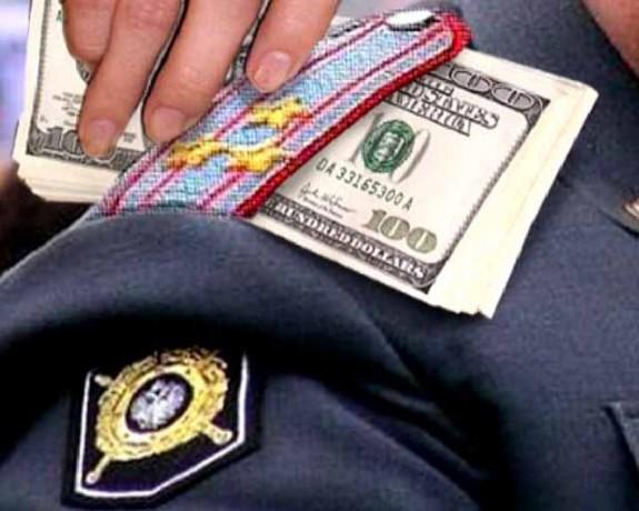В Арцизском районе высокопоставленные правоохранители попались на взятке — СМИ