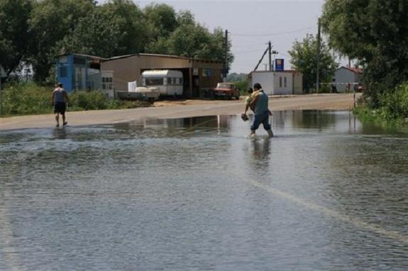 Трассу «Одесса-Рени» затопит из-за выхода Днестра из берегов