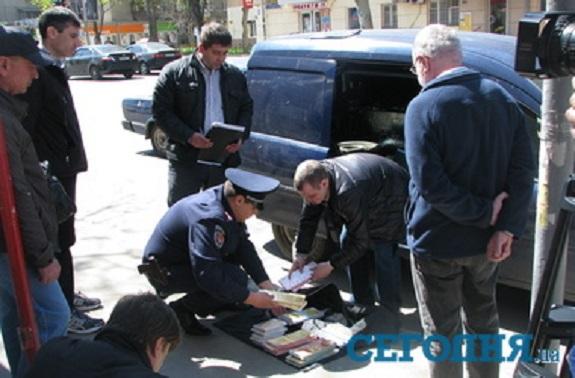 Нападение на инкассаторов в Одессе совершили жители Болграда