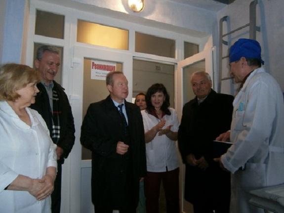 В Саратской больнице открылось реанимационное отделение