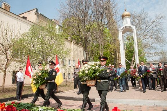 В Одессе почтили память погибших ликвидаторов чернобыльской катастрофы (ФОТО)