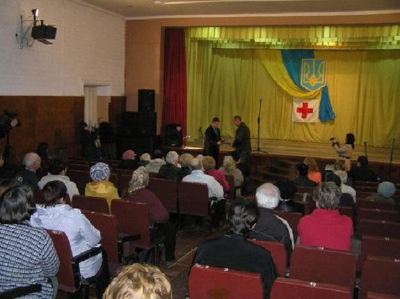 В Килии отметили юбилей общества Красного Креста Украины