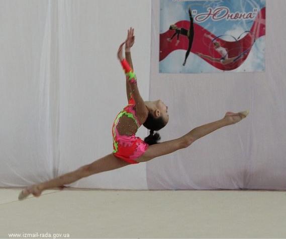 Семь измаильских гимнасток стали победительницами международного турнира