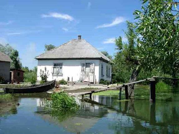 Вилково уже начало подтапливать, а трасса «Одесса-Рени» ещё под большей угрозой затопления
