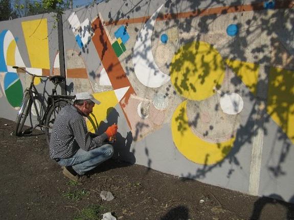 Арцизские художники раскрасили город (ФОТО)