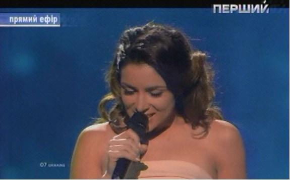 Украинка Злата Огневич вышла в финал Евровидения