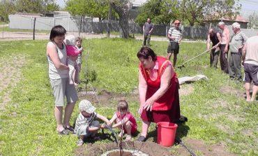 Жители Червоноармейского самостоятельно взялись за благоустройство села (ФОТО)